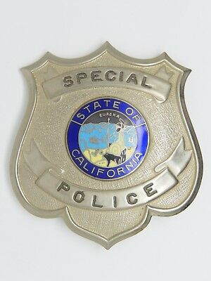 Insigne Police - Obsolete - Special Police - State Of California