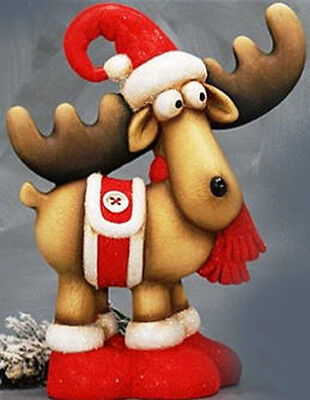 Ceramic Bisque Ready to Paint Prancer Reindeer Brand New!