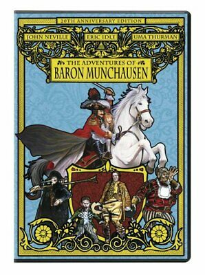 The Adventures of Baron Munchausen (20th Anniversary Edition) [DVD] NEW!