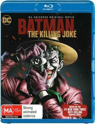 Batman The Killing Joke - Animated DC Comics Movie Blu-ray Region B New!