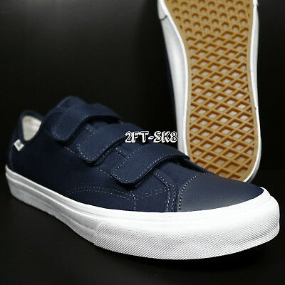 bccb0a1d28 Vans Style 23 V Canvas Dress Blues True White Men s Skate Shoes    Era S7C14