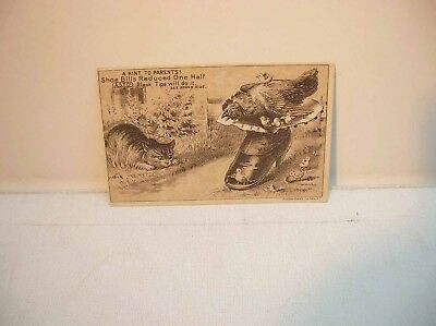 Children's Shoes A.S.T. Co Hagerstown Md Advertising Card Mrs. A. Rose