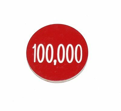 Lammers Buttons 100,000 100k Gambling Poker Lot 58 Chips