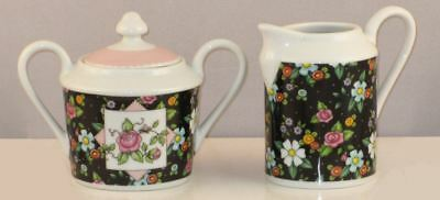 Mary Engelbreit Chintz Charming Sugar & Creamer-108972