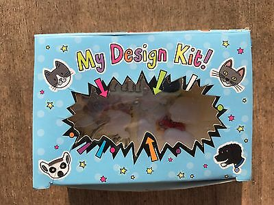 25 X Kids Badge Design Stickers Sets Wholesale Job Lot Party Lucky Bag Dip Fete