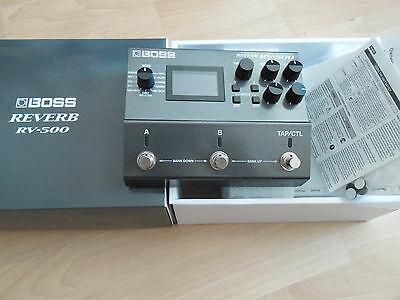 BOSS RV-500 RV500 REVERB MULTIEFFETTO DIGITAL REVERB Roland,NUOVO