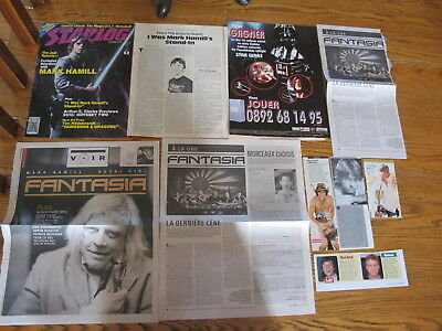 Vintage,mark Hamill Clippings,clearance!