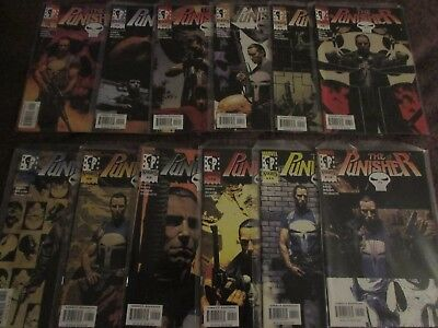 Punisher (2000-2001) Vol 5 #1-12 Marvel Knights - Garth Ennis & Steve Dillon