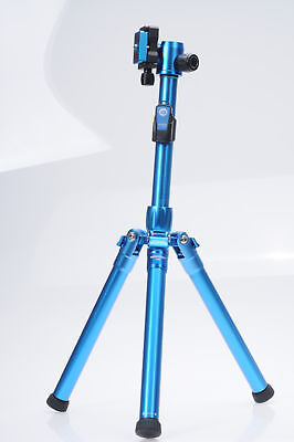 MeFOTO BackPacker Air Travel Tripod MK10 Blue w/ QR Plate Included          #089