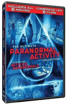 Paranormal Activity 1 2 3 4 Marked Ones Ghost Dimension [DVD 6 Movie Collection]