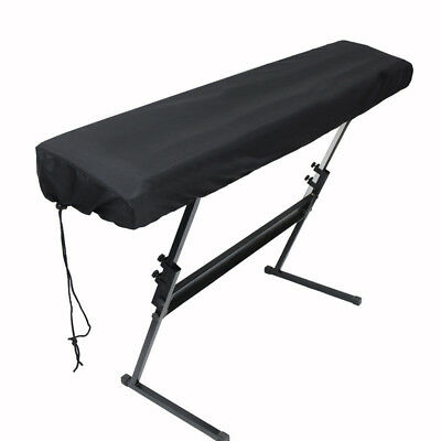 Piano Keyboard Dust Cover with Drawstring Protective for 88/61 Keys Digital
