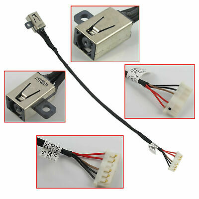 DC POWER JACK HARNESS CABLE Dell Inspiron 15-3000 3551 3558 3552 450.03006.0001