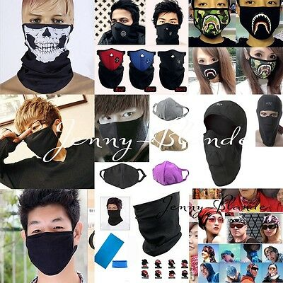 Unisex Motorcycle Cycling Anti-dust Mouth Face Mask Outdoor Headband Hat Cover