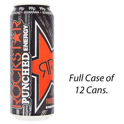 MONSTER PUNCH MIXXD 500ml CASE OF 12 ENERGY DRINKS WHOLESALE