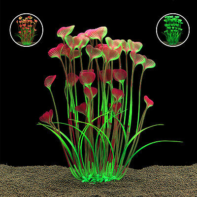 Artificial Water Plants for Fish Tank Aquarium Landscape Plastic Decor Ornament