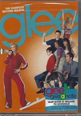 Dvd 6-Disc Glee The Complete Second Season......new