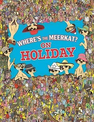 Paul Moran  ____ Where's The Meerkat? On Holiday___ Brand New ___ Freepost