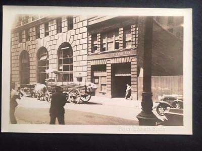 '30 NY Boat Oar Co. 100 Washington St Manhattan NYC Vintage Original Photo T97