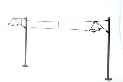 Dapol Catenary Wires 138mm Pack of 10 - OO Gauge - OOWIRE5