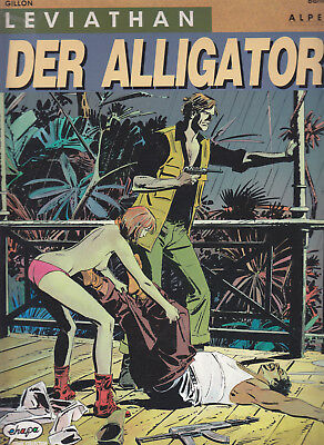 Leviathan Band 2, Der Alligator / Comic-Album
