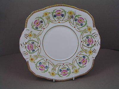 SUTHERLAND CHINA BREAD AND BUTTER/CAKE PLATE, circa 1936-46.