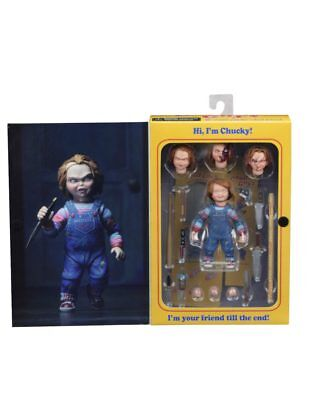 """Childs Play Chucky Ultimate Action Figure 4"""" NECA IN STOCK"""