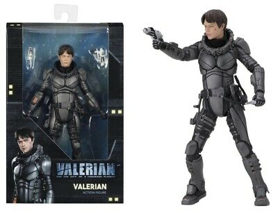 "Valerian 7"" Action Figure Dane DeHaan NECA"