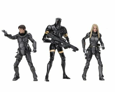 "Valerian 7"" Action Figures Set of 3 K-Tron Valerian & Laureline NECA IN STOCK"
