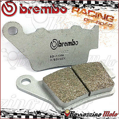 Plaquettes Frein Arriere Brembo Fritte Racing Off-Road Husqvarna Smr 510 2008