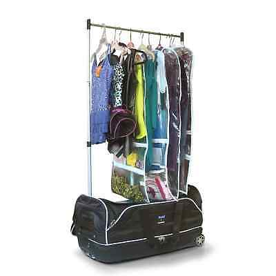 Travolution 28-inch Wheeled Drop Bottom Duffel Bag with Garment Rack