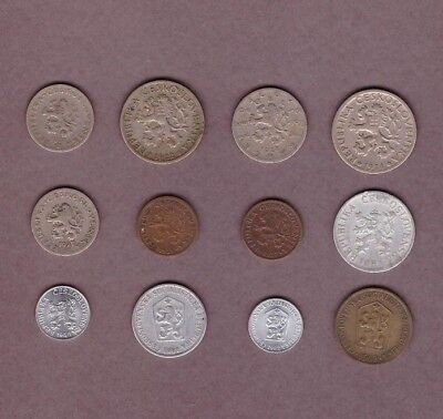 Czechoslovakia (1921-1962) - Coin Collection - Lot # A - World/Foreign/Europe
