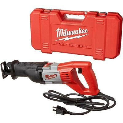 Milwaukee 6519-31 120V AC SAWZALL Reciprocating Saw Kit with Carrying Case