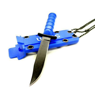 Hot 2018 ! EDC Portable Necklace Style Knife Blade Camping Hunting Survival Tool