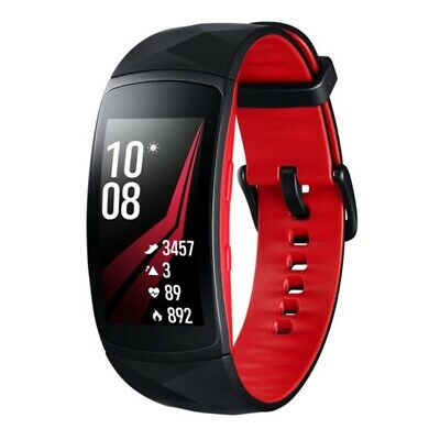 Samsung Gear Fit 2 Pro (SM-R365N, Large) - Red/Black - [Au Stock]