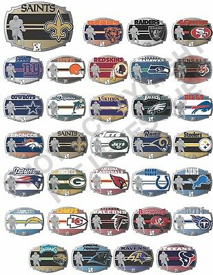 NFL National Football League Official Licensed Belt Buckle collectors vintage