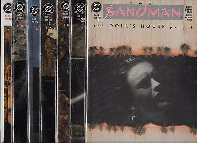 The Sandman Lot Of 7 - #10 #11 #12 #13 #14 #15 #16 The Doll's House Set (Nm-)