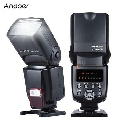 Andoer AD560Ⅱ Universal Flash Speedlite Light for Canon Nikon Pentax DSLR Camera