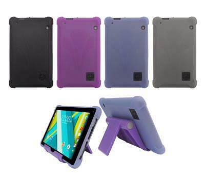 """TPU Case + Adjust Stand for RCA Voyager III  7"""" RCT6973W43 Tablet 2017 Release"""