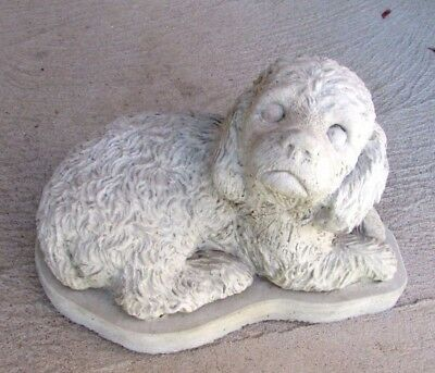 Concrete Cockapoo Statue Or Use As A Monument