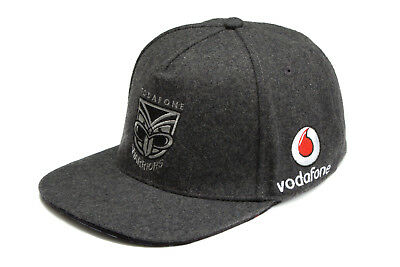 Canterbury Mens New Zealand Warriors NRL 2017 Flat Peak Rugby Supporters Cap