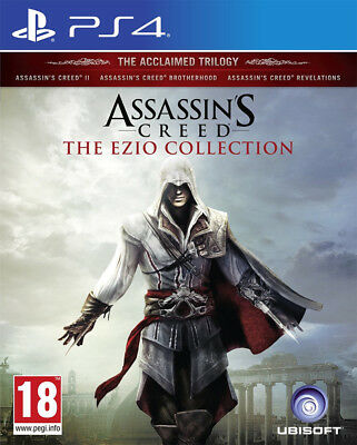 Assassin's Creed: The Ezio Collection (PS4)  BRAND NEW AND SEALED - IMPORT