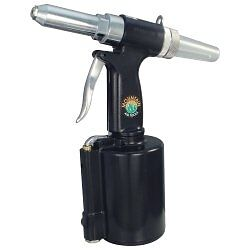 "Mountain 7334A Air Riveter - 3/32"", 1/8"", 5/32"", 3/16"" and 1/4"" Capacity"