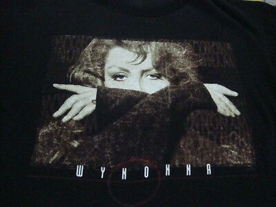 Vintage WYNONNA JUDD 1996 Revelations Concert Tour coubntry the judds T Shirt L
