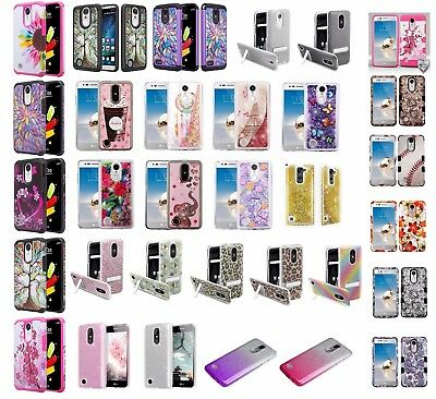 info for bf72b 6317f LG REBEL 2 Slim Hybrid Hard Case Shockproof Phone Cover Cell Phone Case  Tracfone