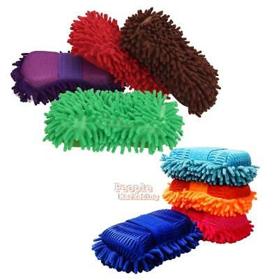 Microfiber Chenille Vehicle Car Window Washing Brush Home Cleaning Cloth Tool