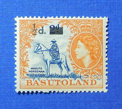 1959 BASUTOLAND 1/2d SCOTT# 57 S.G.# 54 UNUSED NH                        CS20098