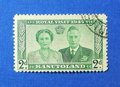 1947 BASUTOLAND 2d SCOTT# 36 S.G.# 33 USED                               CS20163