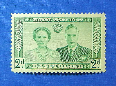 1947 BASUTOLAND 2d SCOTT# 36 S.G.# 33 UNUSED                             CS20050