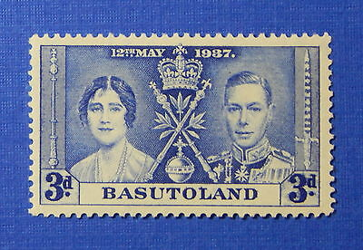 1937 BASUTOLAND 3d SCOTT# 17 S.G.# 17 UNUSED                             CS20018