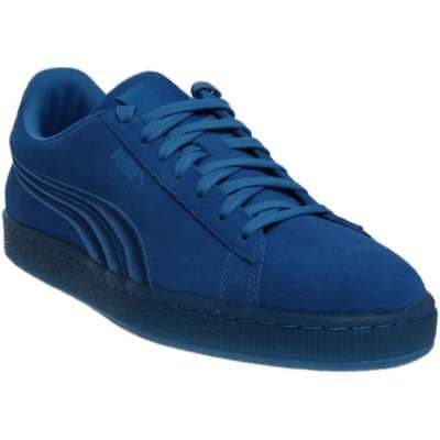 online store 2654e dfb36 Puma Suede Classic Badge Iced Blue - Mens - Size